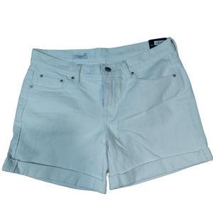 Gap White Sexy Boyfriend Shorts Size 27